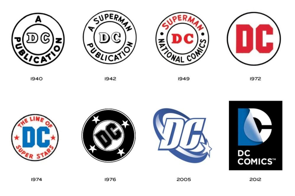 old dc logos